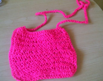 Hand Knitted Phone Holder