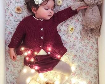 Alpaca sweater, Knitted sweater, Baby sweater