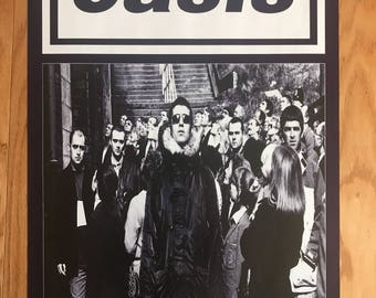 Oasis New Single You Know What I Mean Original Promo Poster 20 X 30  As Is