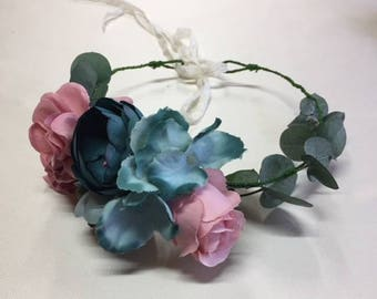 Naturally preserved flower Crown. Boho headpieces.