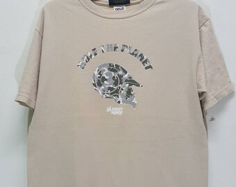 Vintage Rare Planet Of The Apes movie shirt