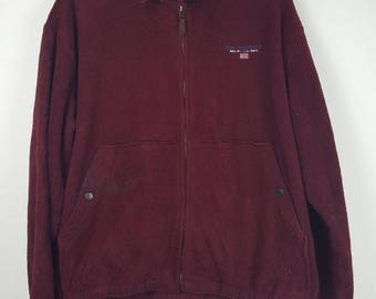 Vintage Polo Sport Ralph Lauren Small logo fleece jacket