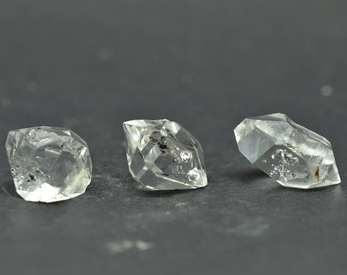 Enhydro Herkimer Diamond Quartz X 3 PIECES  - HD01