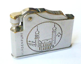 Vintage 'VB Pacific' Petrol Lighter - Klagenfurt