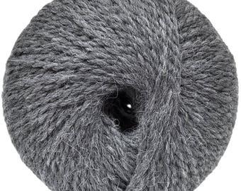 Grey Yarn - Alpaca/wool - Bulky - 100 gr./ 191 yd.