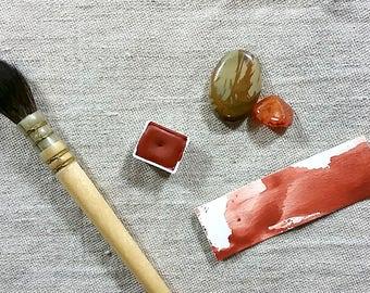 Venetian Red Watercolor - Half-pan