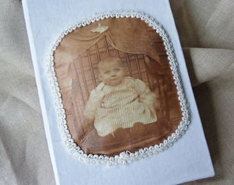 Journal -  Baby Beauregard and Friends - Vintage Baby Photos
