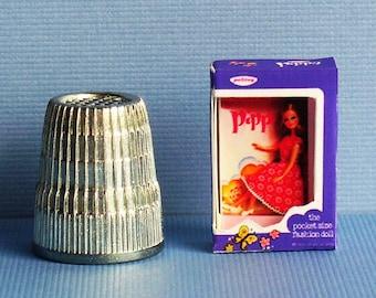 Palitoy Pippa Doll Box -  Miniature doll box replica - Pippa or Dawn size Doll Accessory -  Dollhouse Miniature - 1970s Dollhouse girl toy
