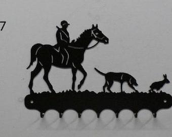 Hangs 26 cm pattern metal keys: hunting
