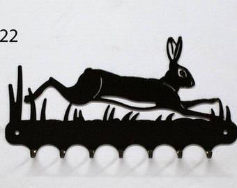 Hangs 26 cm pattern metal keys: Hare