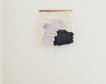 In The Air Wool Woven Wall Hanging