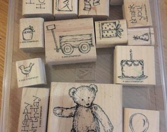 Stampin' Up! favorite teddy set