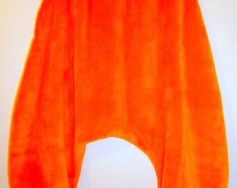 Harem pants 3 rolling cotton Velvet