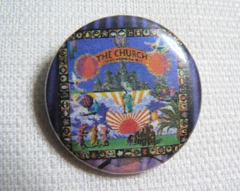 Vintage 90s The Church - Sometime Anywhere Album (1994) Pin / Button / Badge