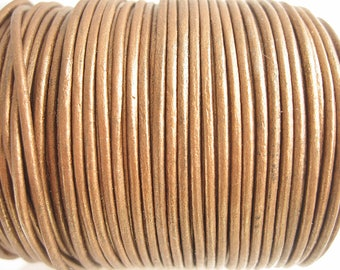 4 m leather 1.5 mm bronze quality sup