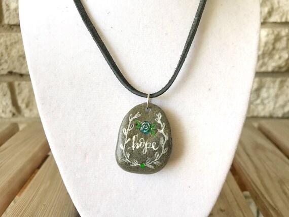 Catholic Jewelry * Catholic Pendant Necklace * Rustic Jewelry * Natural Pendant Necklace