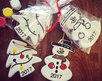 2017 Ceramic Keepsake Ornament