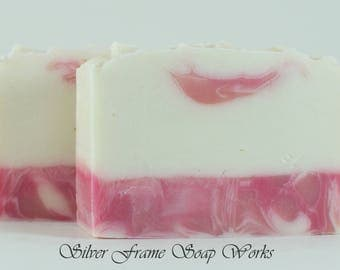 Pearberry Soap, Handmade - Floral and Fruity - Amazing Silky Cold Process Soap