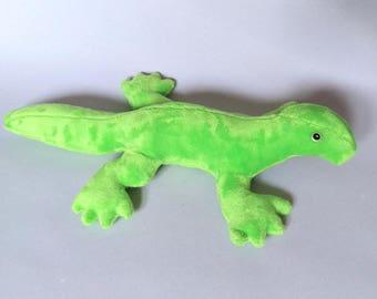 Bright Green Gecko Plush / Lizard Plushie