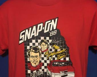 Vintage 1988 Snap On Bill Elliot nascar t shirt *S/M