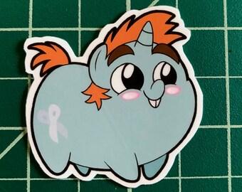 Pony Chubs! Snips Sticker