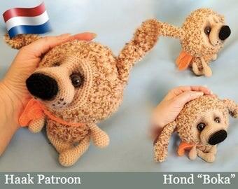 099NLY Puppy Boka - Amigurumi haak patroon PDF file by Pertseva Etsy