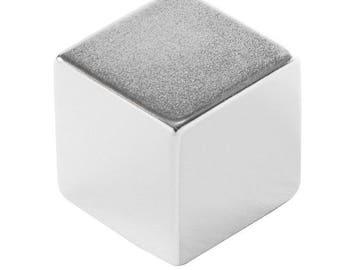 1 x 1 x 1 in (25.4 x 25.4 x 25.4 mm) Neodymium Rare Earth Cube Magnet N52 (1 Magnet)