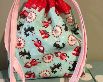 Little Red Project Bag
