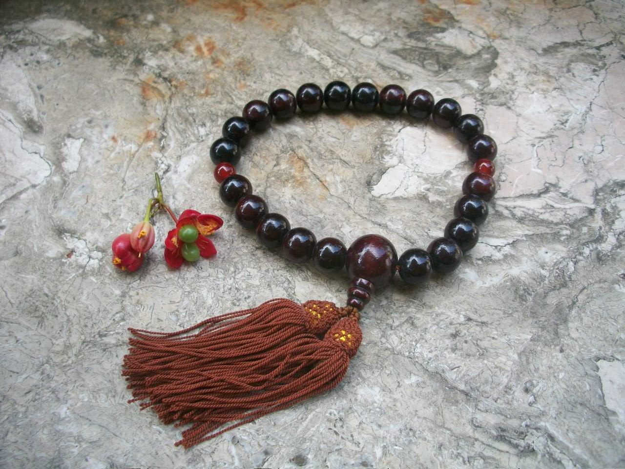 Japanese Juzu Buddhist Prayer Beads Mala Beads Buddhist Rosary