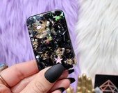 Orgonite® - Cell Phone Back - EMF Protection - Shungite - Handmade - Orgone Generator® - Orgone Energy - Crystals - Gift - HoodXHippie