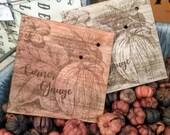 Pumpkin Patch Corner Gauge