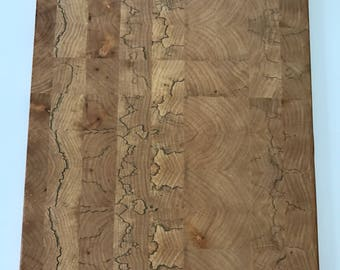 Spalted maple cutting board