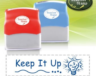 Self-Inking Teacher Stamp - Keep It Up - DS012