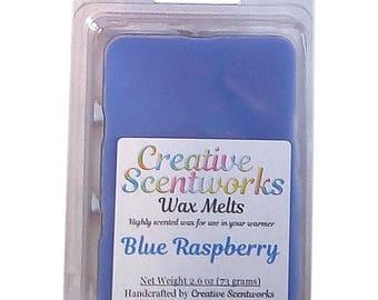Blue Raspberry Scented Wax Melt, Wax Cubes, Wax Tart, Wickless Candle, Melting Wax, Wax Melts, Scent Bar, Scent Cube, Wax Bar