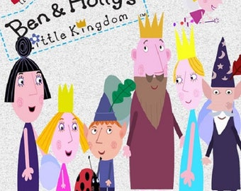 111 Ben And Hollyu0027s Little Kingdom Clipart  INSTANT DOWNLOAD For Cards,  Scrapbooking, Part 75