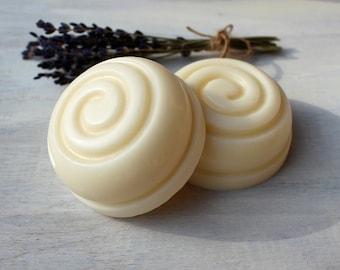 LAVENDER & VANILLA Solid Hair Conditioner Bar | Illipe Butter | Argan | Pro Vitamin B5 | Hydrolyzed Wheat Protein | Essential Oil