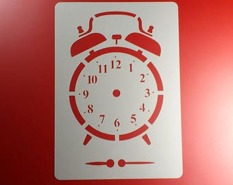 Alarm clock mechanical clock pointer clock-BE45