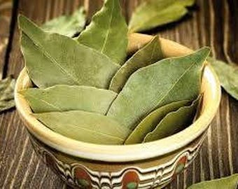 Bay Leaf - 3 ounces.        (Laurus nobilis)