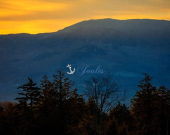 Stowe ~ Vermont ~ Skiing, Mountains, Snowboarding, Art, Artwork, Photograph, New England, Snow, Winter Scenes, Sunrise