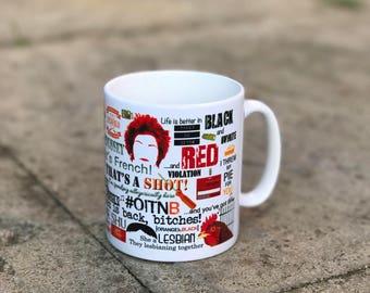 Orange is the new black mug - OITNB - Netflix