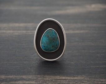 Candelaria Turquoise Ring Size 7