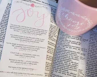 Joy Bookmark FREE shipping