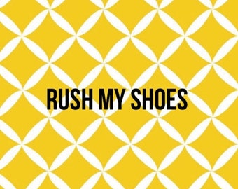 SUMMER SALE Rush my shoes
