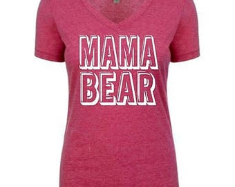 15%off this week only momma bear shirt / mom shirt / mothers day