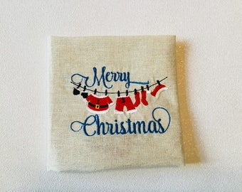 Merry christmas napkins  set of 4