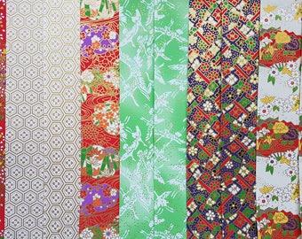 Chiyogami Yuzen Washi Paper ~ 10 Sheets ~ 20x20cm