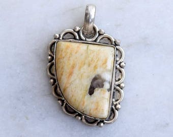 Jasper Pendant, Jasper Pendant, Silver Pendant, Jasper Necklace Pendant, Jasper Locket, Jasper Pendant, Jasper Stone Pendant