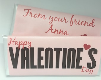 valentines day candy wrapper personalized candy wrapper with hershey bar kid valentine class