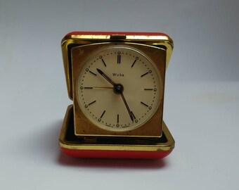 Vintage Wuba travel clock