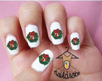 30 Christmas Reef Nail Decals